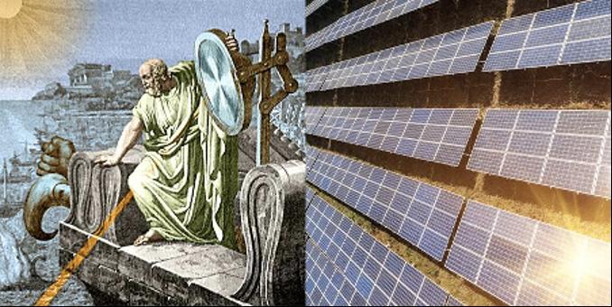 antikens grekland och solenergi