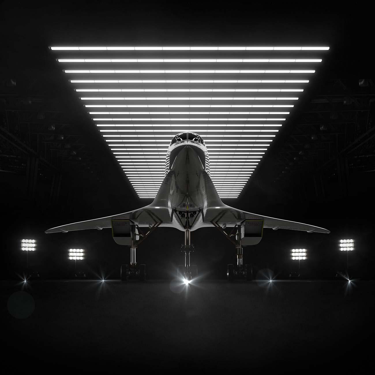Det eleganta Overture från USA-baserade Booms är ett kommersiellt flygplan med 55–75 sittplatser som nu har lämnat designstadiet.