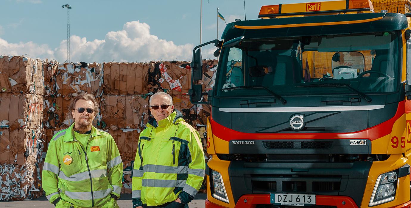 """Carl F: """"Vi kör över 40.000 ton per år med Neste MY Förnybar Diesel"""""""