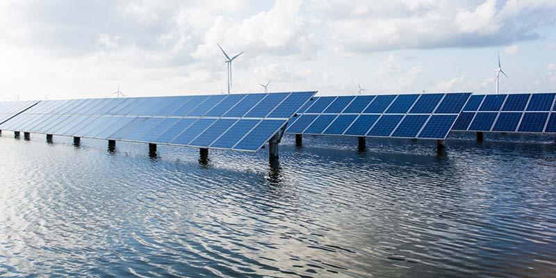 solceller i vatten