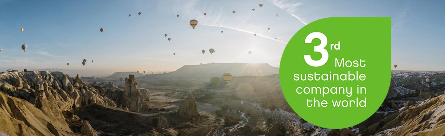 Neste är världens tredje mest hållbara företag