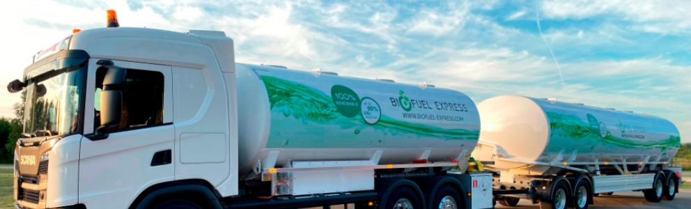 Biofuelexpress tankbil