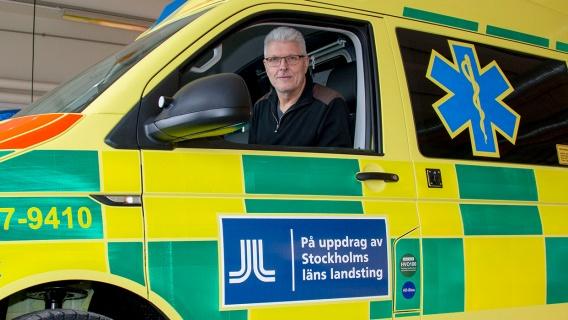 Idag är det ungefär 60 av Falcks ambulanser som körs på Neste MY.