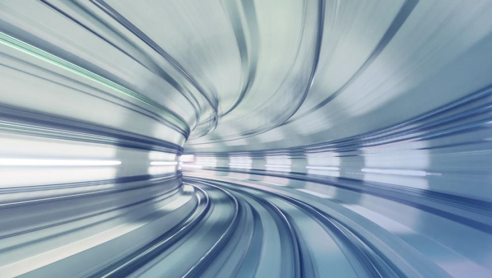 illustration, ljus i snabb hastighet
