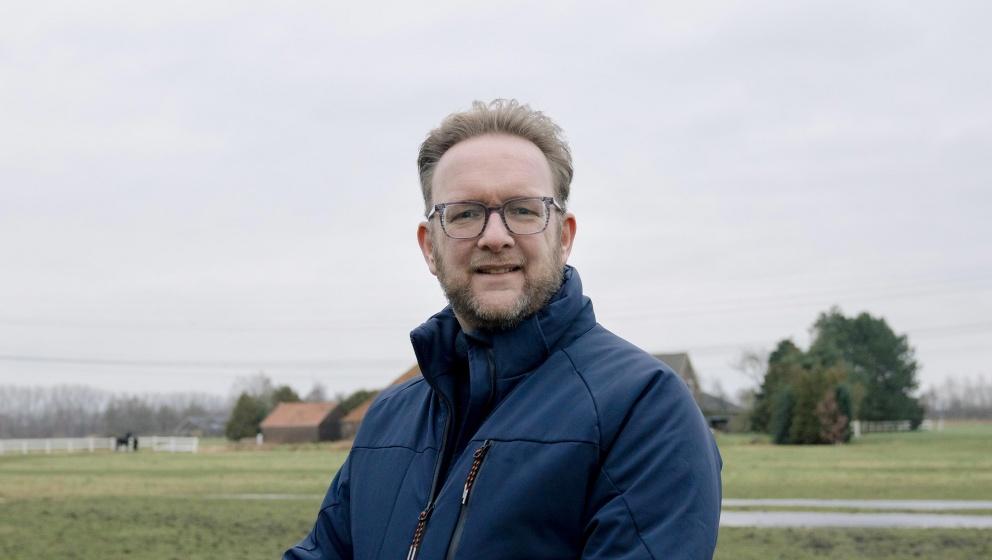 bild på Germ Wiersma, en pionjär inom hållbara bränslen