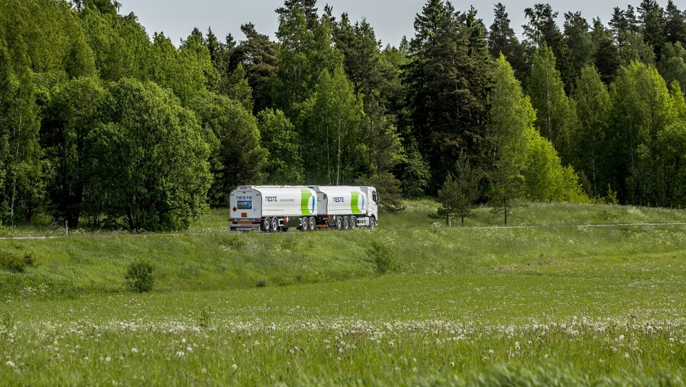 Neste fuel transport