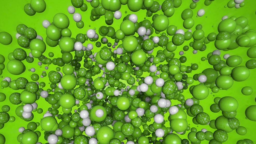 gröna bollar