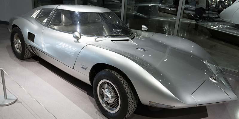 Chevrolets Corvair Monza Spyde, som introducerades år 1962
