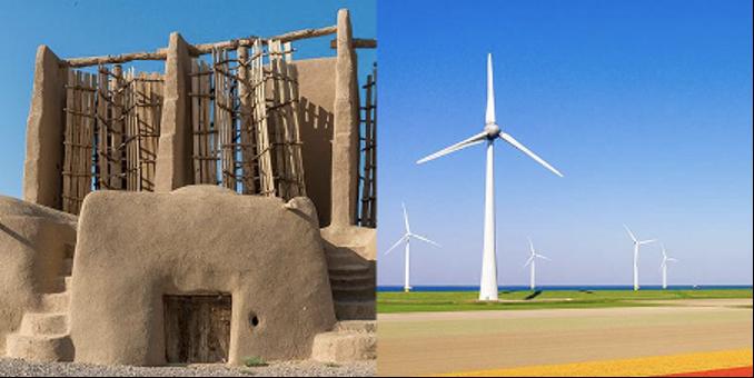 historisk vindkraft i Iran och modern vindkraft